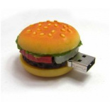 Custom made hamburger USB stick - Topgiving