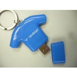 Custom made USB stick voetbal- shirt Randstad - Topgiving