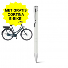 Metalen balpen - Met gratis Cortina e-bike! - Topgiving