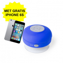 Bluetooth speaker - Met gratis iPhone 6S! - Topgiving