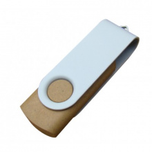 Duurzame twister USB stick - Topgiving