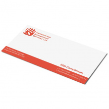 Compliment card A6 - Parelmoer - Topgiving