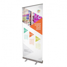 Roll-up banner budget - foto kwaliteit - Topgiving