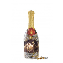 Champagne fles metallic sweets - Premiumgids