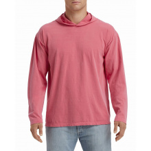Comcol hooded t-shirt heavyweight ls for him - Topgiving