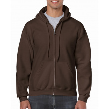 Gildan sweater hood full zip for him - Premiumgids