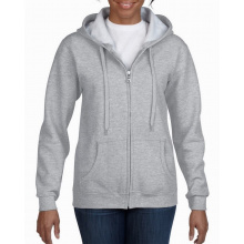 Gildan sweater hood full zip for her - Premiumgids