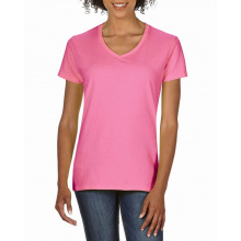 Gildan t-shirt premium cotton v-neck for her - Premiumgids