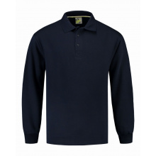 L&s sweater polo open hem - Premiumgids