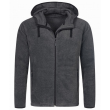 Stedman power fleece cardigan hooded activ for him - Topgiving