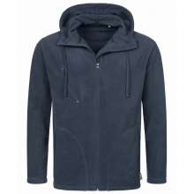 Stedman polar fleece cardigan hooded activ for him - Topgiving