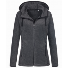 Stedman power fleece cardigan hooded activ for her - Topgiving