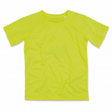 Stedman t-shirt raglan mesh active-dry ss for kids - Topgiving