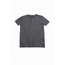 Stedman t-shirt henley shawn ss for him - Topgiving