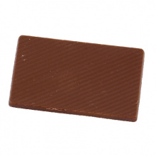 Chocolade tablet (melk) barry callebaut 10,5 gr. full colour op wikkel - Topgiving