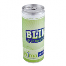 Blikje energy drink 250 ml. - Topgiving