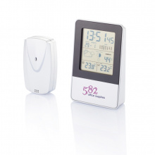 Indoor/outdoor weerstation - Topgiving