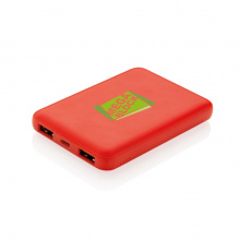 High density 5.000 mah zakformaat powerbank - Topgiving