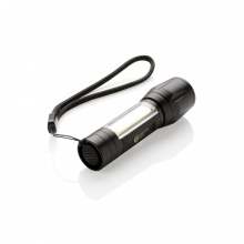 Led 3w focus zaklamp met cob - Topgiving