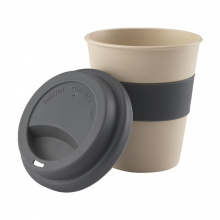Eco bamboo-to-go beker - Topgiving