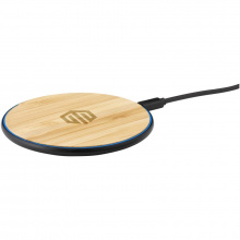 Bamboo 10w wireless fast charger draadloze snellader - Topgiving