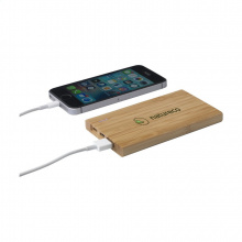 Bamboo 4000 powerbank externe oplader - Topgiving