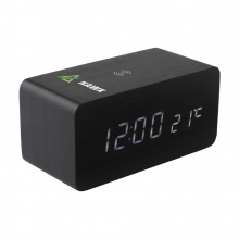 Avant wireless charging digi clock alarmklok oplader - Topgiving