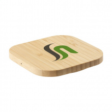 Bamboo 5w wireless charger draadloze oplader - Topgiving
