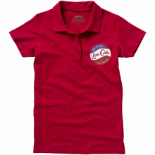 Let short sleeve women's jersey polo - Premiumgids