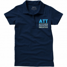 Let short sleeve women's jersey polo - Topgiving