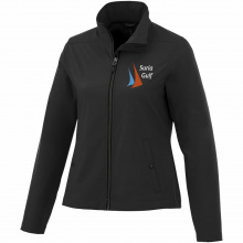 Karmine private label softshell damesjack - Topgiving