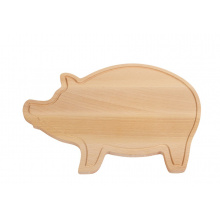 Snijplank wooden piggy - Topgiving