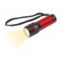 Aluminium led-zaklamp zoom - Topgiving