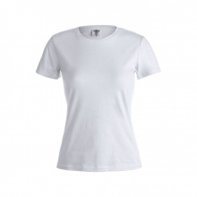 "Wit dames t-shirt ""keya"" - Topgiving"