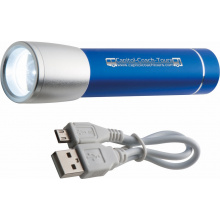Combinatie van zaklamp en Powerbank 2.200 mAh - Premiumgids