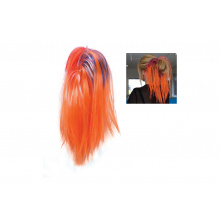 Oranje hairextension knot - Topgiving