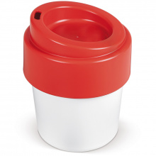 Hot-but-cool koffiebeker met deksel 240ml - Topgiving