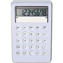 Kunststof calculator, 8 digits - Topgiving