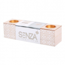 Senza vibes block candle holder - Topgiving
