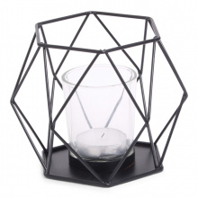Senza wired candle holder (incl. glass) - Topgiving