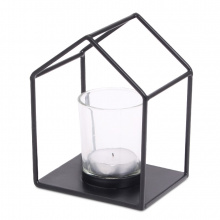 Senza house candle holder (incl. glass) - Topgiving