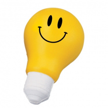 Smiley anti-stress gloeilamp - Topgiving