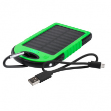 Usb power bank met zonne energie lader - Premiumgids