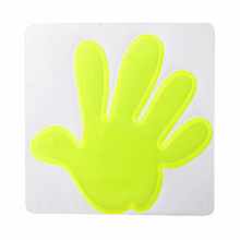 Reflector sticker hand - Topgiving