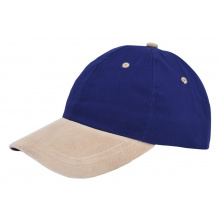 Soft cotton/suède cap - Premiumgids