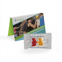 Promotion card jelly bears - Topgiving