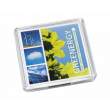 Acrylic square magnet 64x64mm - Premiumgids