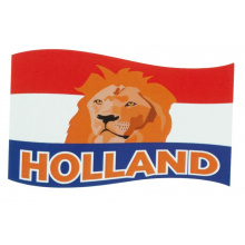 Oranje magneetsticker Holland - Topgiving