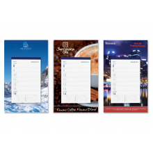 Week scheurkalender met full colour schild - Topgiving