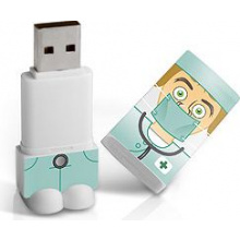 Nieuw: full colour bedrukte USB figuren - Topgiving